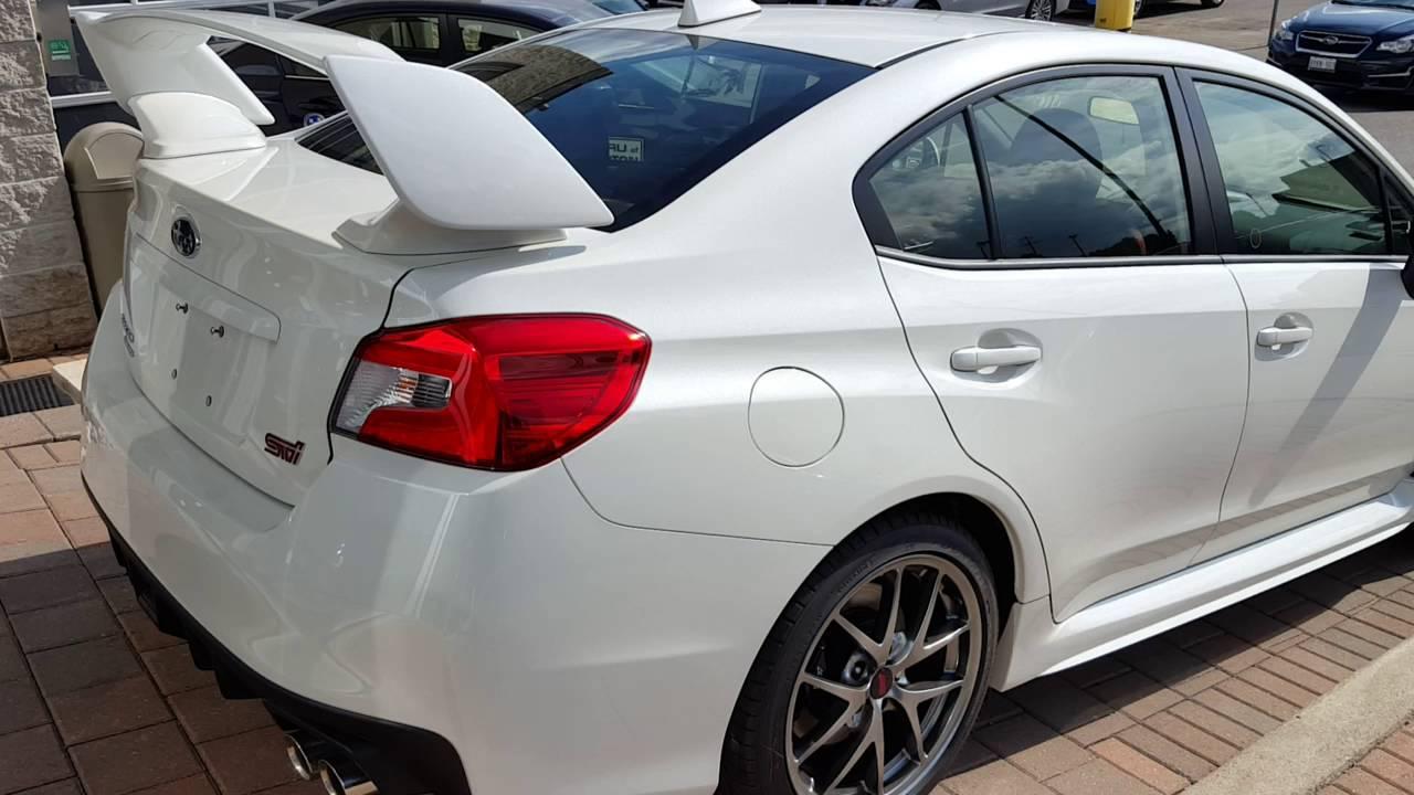 2017 Subaru Wrx Sti Sport Tech