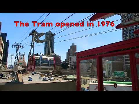 King Kong! Tram Ride POV, Roosevelt Island New York City, HD 2017