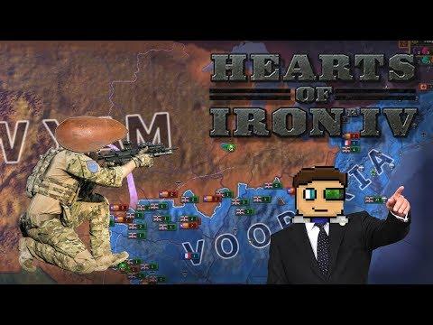 THE YAMS REVOLT! |The Vooperian Empire #1| Hearts of Iron 4