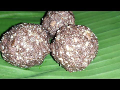 சத்தான ராகி உருண்டை / Healthy ragi ball / Eavening snack