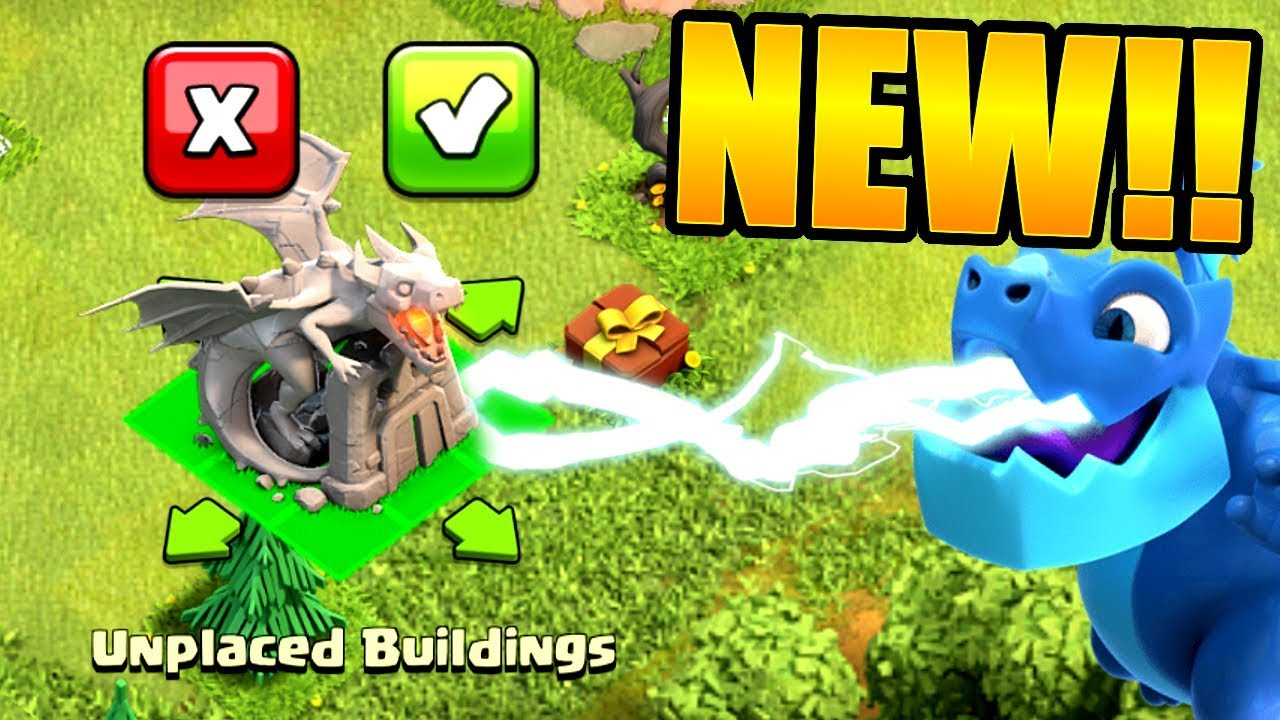 Remarquable WORLDS FIRST DRAGON STATUE IN CLASH OF CLANS 🔥 Clash Exclusive AL-81