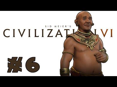 Let's Play: Civilization VI -- Deity Khmer! -- Part 6