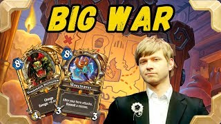 Savjz is trying Big Recruit Warrior deck (The Witchwood)
