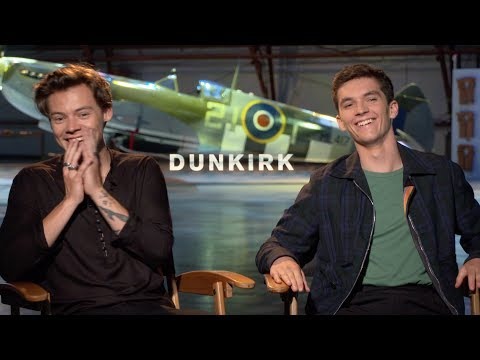Dunkirk interview with Harry Styles & Fionn Whitehead
