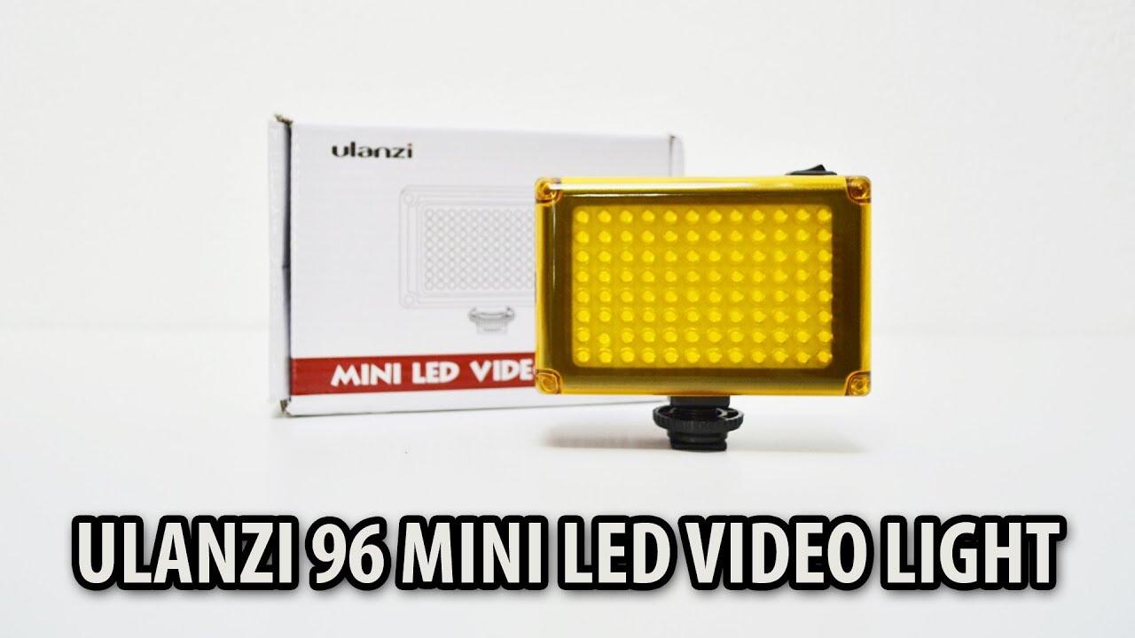 UNBOXING ● ULANZI 96 MINI LED VIDEO LIGHT (ALIEXPRESS)