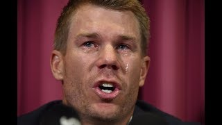 I may not play for Australia again, says tearful David Warner