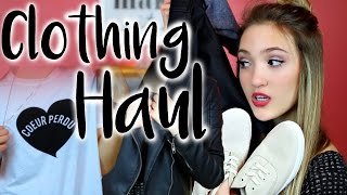 HUGE Clothing Haul 2016 | Brandy Melville, H&M, Urban Outfitters, & More!