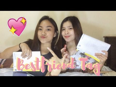 BESTFRIEND TAG! ft. Sandra Valencia | Just & Bia