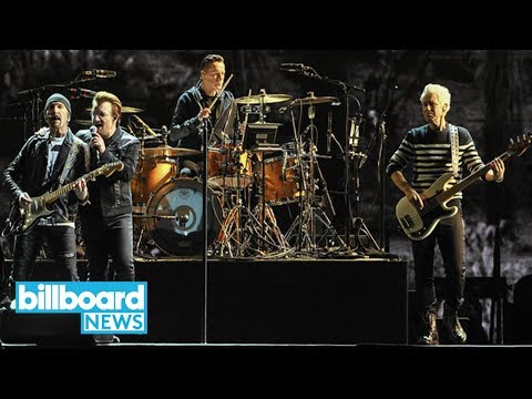 U2 Share New Song 'The Blackout,' Releasing Lead Single and Album Details Next Week | Billboard News