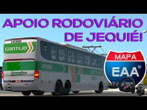 [ETS2 1.36]SP/ARACAJÚ - APOIO RODOVIÁRIO DE JEQUIÉ! - G6 1200 DA GONTIJO(SÃO GERALDO) - EAA