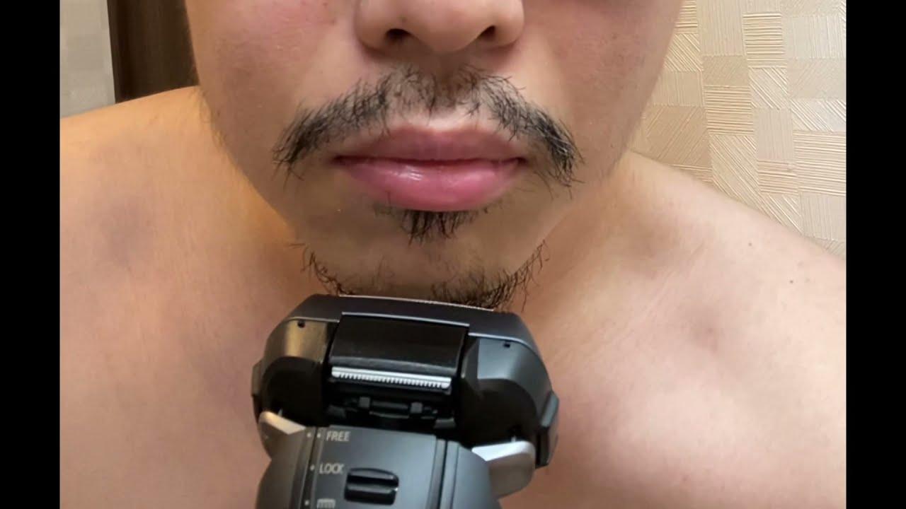 1ヶ月分の髭を剃るRTA