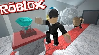 Roblox ROB A BANK OBBY / ESCAPE WITH MILLIONS OF ROBUX!! / Roblox