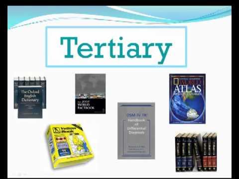 primary, secondary, & tertiary sources - youtube, Cephalic Vein