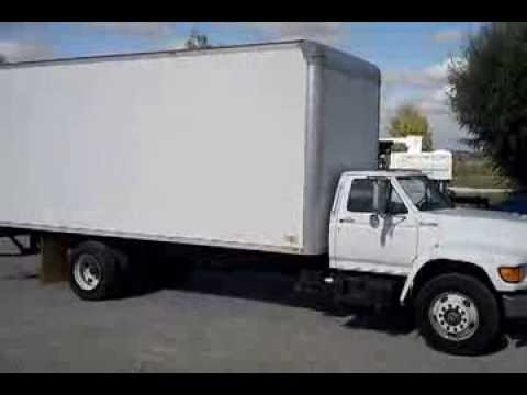 1999 ford box truck w lift gate for sale youtube. Black Bedroom Furniture Sets. Home Design Ideas