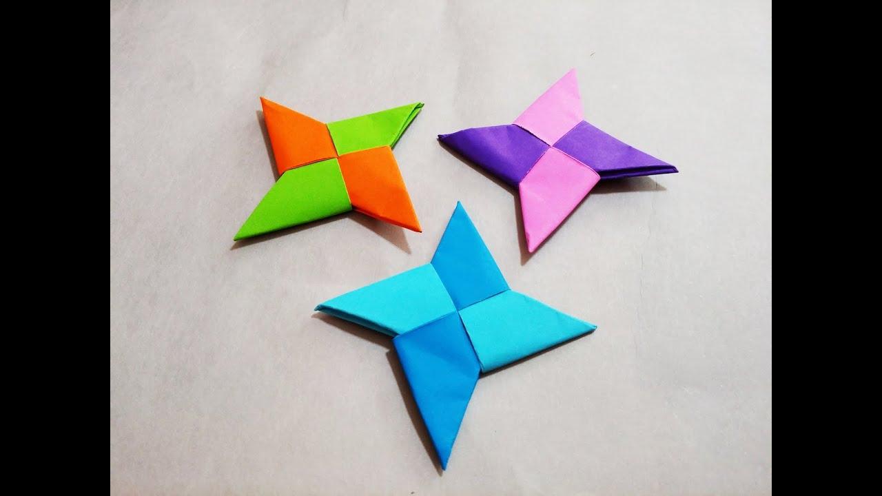 How to make origami ninja star