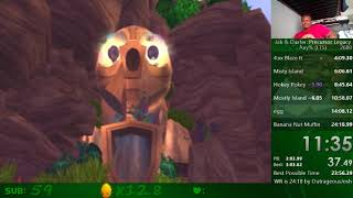 Jak and Daxter Any% Speedrun in 24:07!!!!!!!!!! (WR)