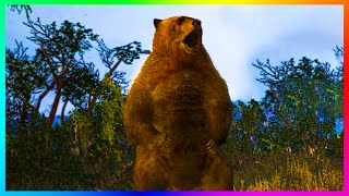 GTA 5 Mysterious Animals Footprints & Files Suggest New Species Like Bigfoot, Horses & MORE! (GTA 5)