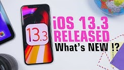 iOS 13.3 is OUT - What's NEW !?