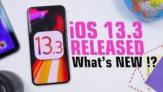 iOS 13.3 is OUT - What's NEW !? Video