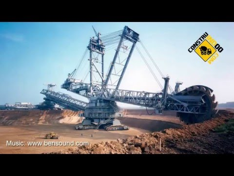 World's Largest Terrestrial Vehicle - Bagger 293