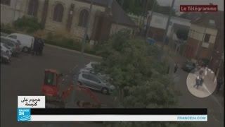 التعرف على هوية المنفذ الثاني لهجوم كنيسة سانت اتيبن دو روفراي