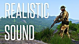 THE BEST REALISTIC SOUND MOD! - ArmA 3 Dynasound / Enhanced Soundscape