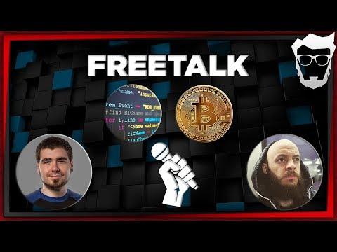 FreeTalk #3 - Esy Crux - Daily Vloger a Kryptoměny
