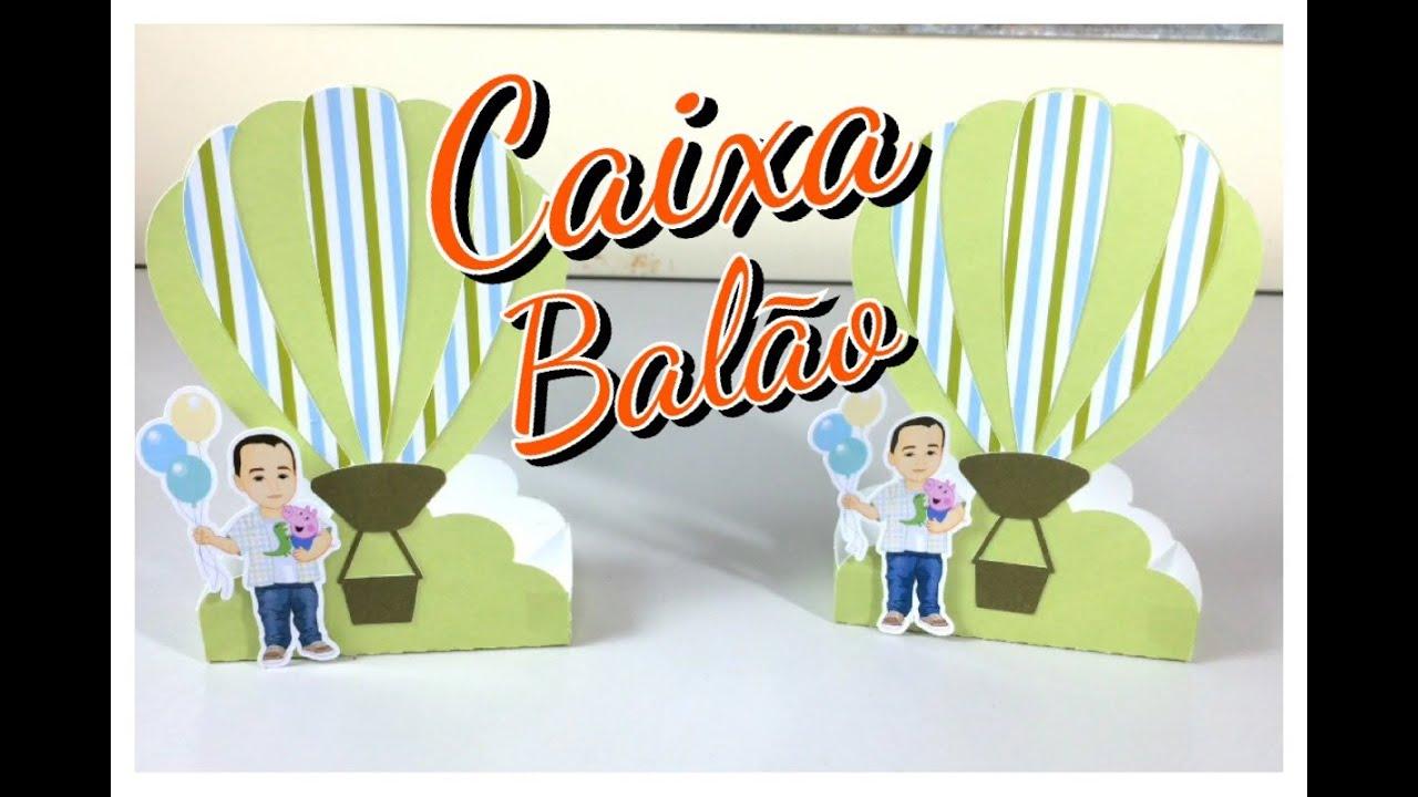 #CB3E00 DIY Como fazer enfeite de mesa Caixa balão para doces Festa  1200x800 px caixa de madeira personalizada como fazer @ bernauer.info Móveis Antigos Novos E Usados Online