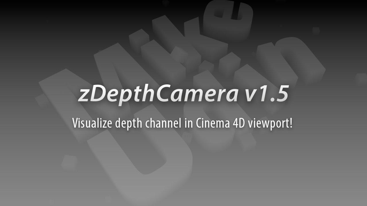 Cinema 4D zDepthCamera preset Free plugin | Fxcave com