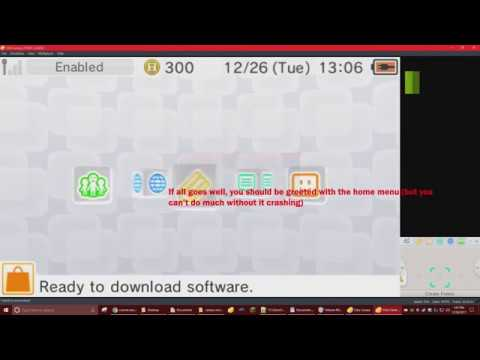Setting up the 3DS NAND (Home menu 11 9 0) for Citra [No voice over] by  legoj15