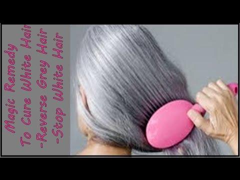 Magic RemedyThat Cure White Hair- Reverse Grey Hair -Stop White Hair