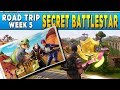 Fortnite Road Trip Challenge #5 - Secret Loading Screen Battlestar Location