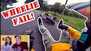 Reaktion mit Eike Motorrad/Roller/Enduro FAIL