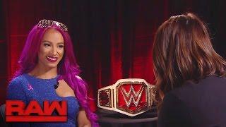 Sasha Banks möchte bei Hell in a Cell Geschichte schreiben: Raw, 17. Oktober 2016