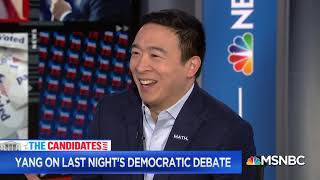 Andrew Yang Trends Worldwide During Debate (Full Interview)