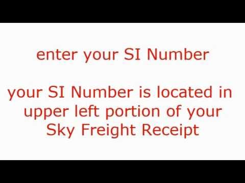 Sky Freight Forwarders - Trace Cargo