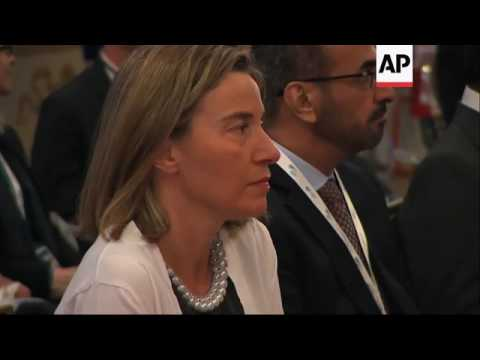 Foreign ministers convene at G7 meeting in Italy