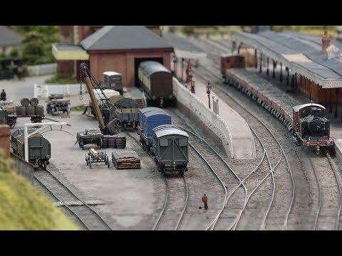 Bluebell Railway – Model Railway Weekend 2017 – 4K