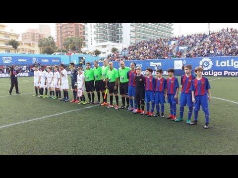 [ESP] LALIGA PROMISES: FC Barcelona (Infantil B) - Sevilla (0-1)