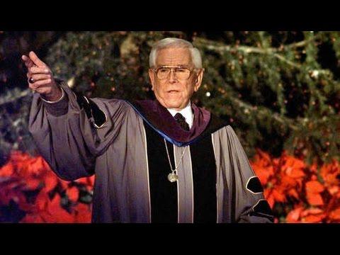 Reverend Robert Schuller's Warning to the Church...