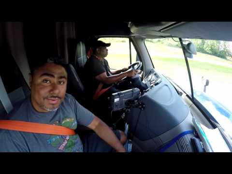 Truck Driver Trainee - Day 9 - Shifting Gears 8-20-16