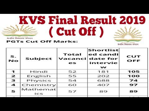 KVS Final Result