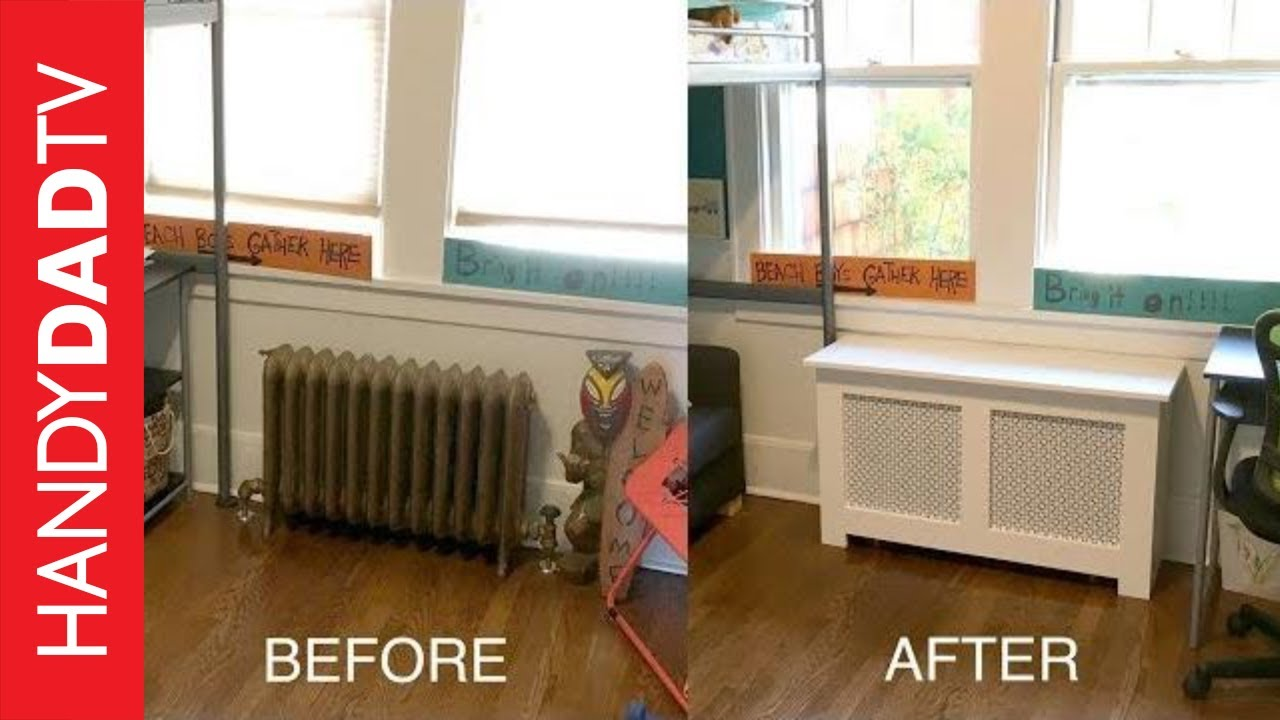 Diy Radiator Covers Youtube