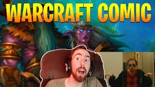 Asmongold Reacts to Battle for Azeroth Magni Comic - World of Warcraft Battle for Azeroth