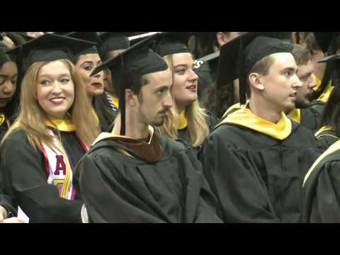 2016 Spring Commencement VCU Robertson School of Media and Culture