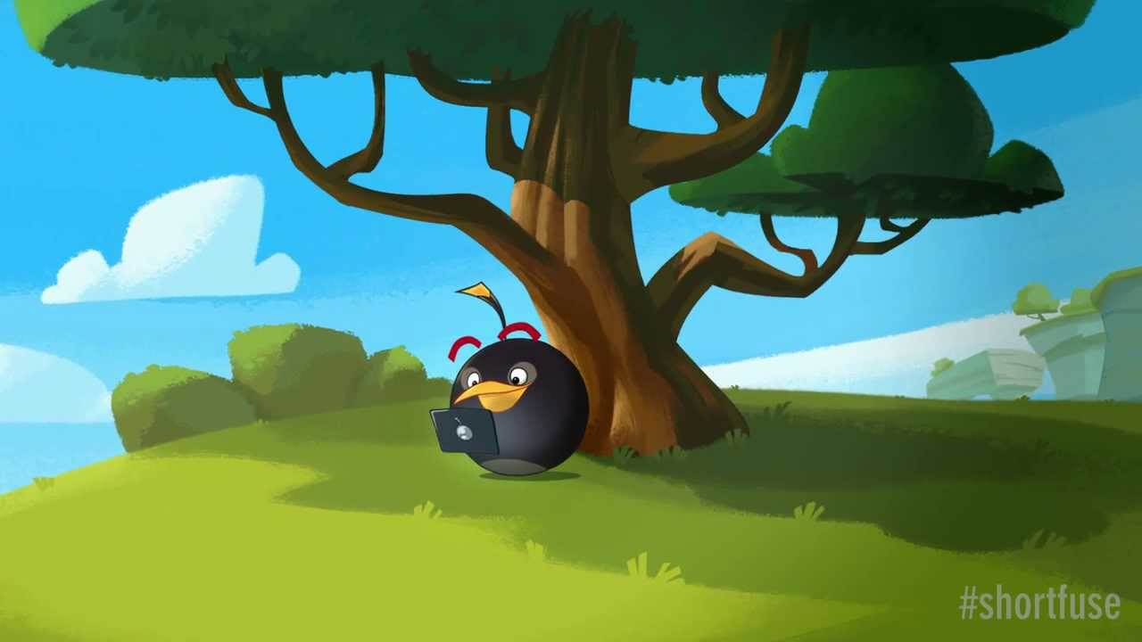 bomb bird stars in angry birds update short fuse youtube. Black Bedroom Furniture Sets. Home Design Ideas