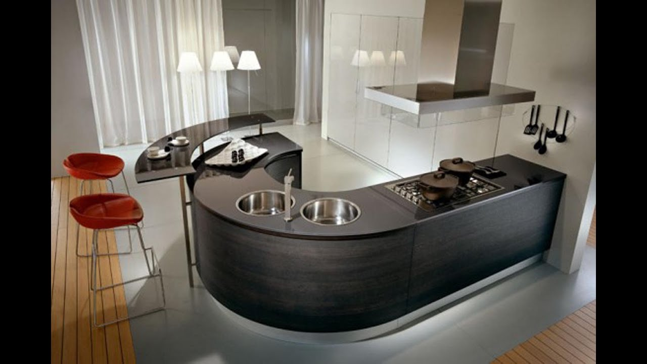 space saver kitchen design countertop shelf wonderful saving small layouts youtube