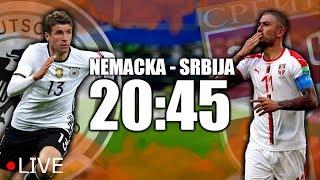 SRBIJA - NEMACKA - Uzivo prenos rezultata