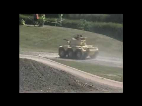 Saladin armoured car Exclusive footage at Tankfest 2010