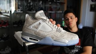Air Jordan 4 Retro Laser 30th Anniversary Review